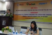 Development of a Masters in Speech and Language Therapy in Vietnam