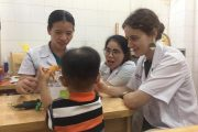 Volunteer Making a Difference in Hue