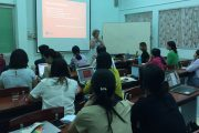 Students learn Voice and Voice Disorders for their Masters